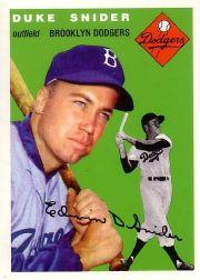 1994 Topps Archives 1954 #32 Duke Snider