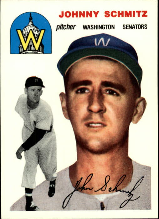 1994 Topps Archives 1954 #33 Johnny Schmitz front image