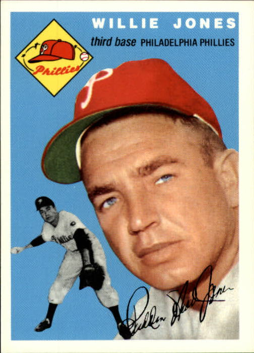 1994 Topps Archives 1954 #41 Willie Jones front image