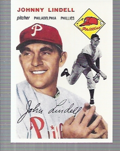 1994 Topps Archives 1954 #51 Johnny Lindell