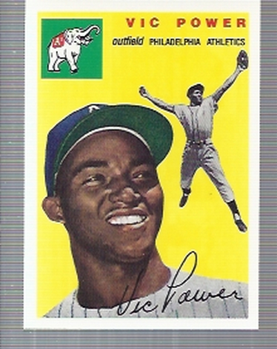 1994 Topps Archives 1954 #52 Vic Power