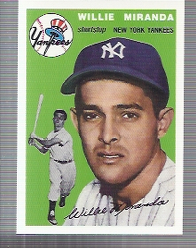 1994 Topps Archives 1954 #56 Willie Miranda