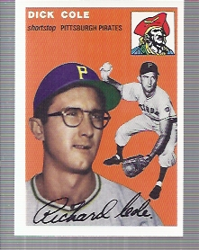 1994 Topps Archives 1954 #84 Dick Cole front image