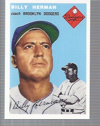 1994 Topps Archives 1954 #86 Billy Herman CO