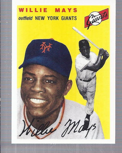 1994 Topps Archives 1954 #90 Willie Mays