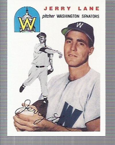 1994 Topps Archives 1954 #97 Jerry Lane