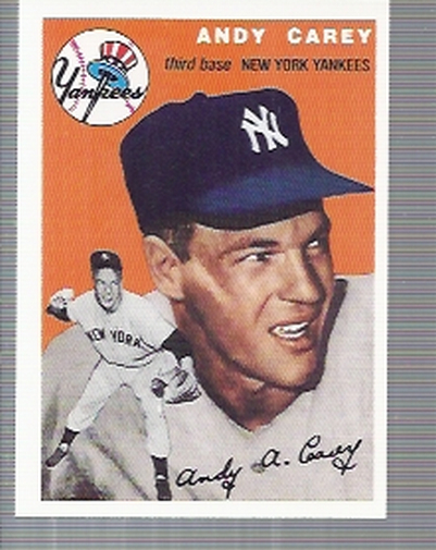 1994 Topps Archives 1954 #105 Andy Carey front image