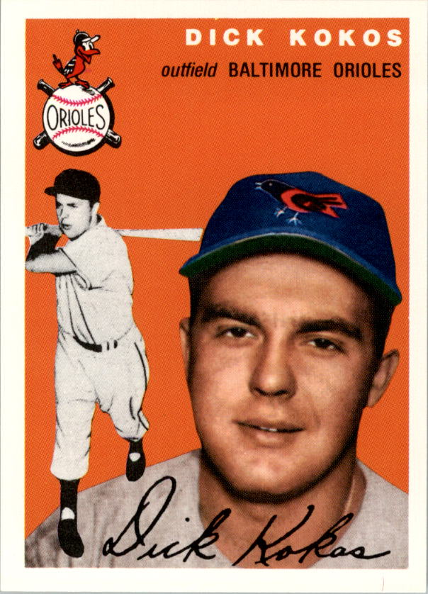 1994 Topps Archives 1954 #106 Dick Kokos