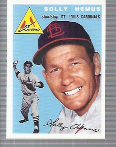 1994 Topps Archives 1954 #117 Solly Hemus