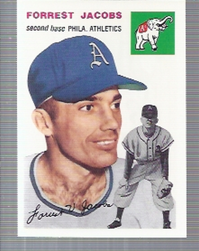 1994 Topps Archives 1954 #129 Forrest Jacobs