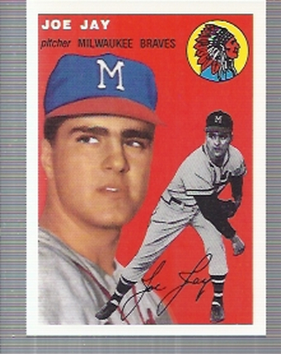 1994 Topps Archives 1954 #141 Joe Jay