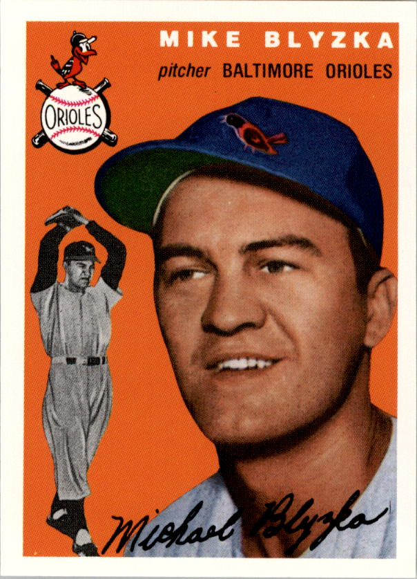 1994 Topps Archives 1954 #152 Mike Blyzka