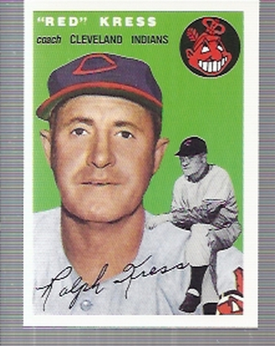1994 Topps Archives 1954 #160 Red Kress CO