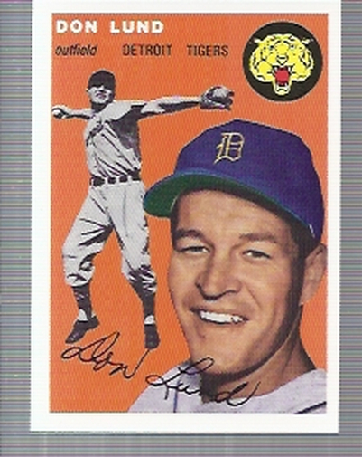 1994 Topps Archives 1954 #167 Don Lund
