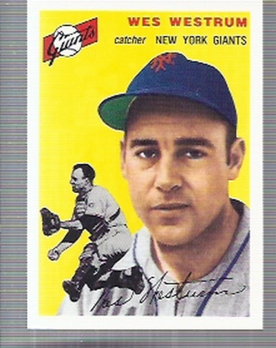 1994 Topps Archives 1954 #180 Wes Westrum