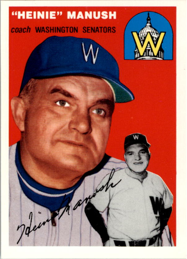 1994 Topps Archives 1954 #187 Heinie Manush CO front image