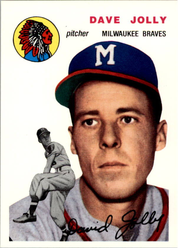 1994 Topps Archives 1954 #188 Dave Jolly front image