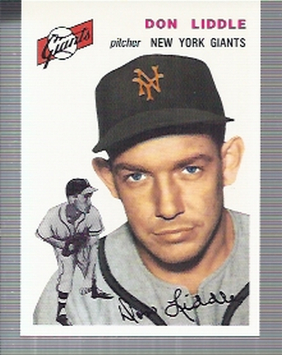 1994 Topps Archives 1954 #225 Don Liddle