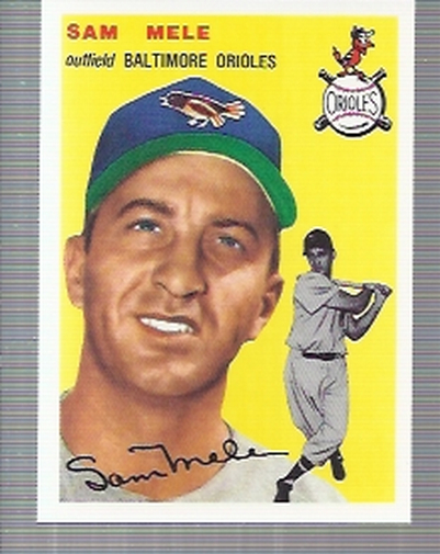 1994 Topps Archives 1954 #240 Sam Mele