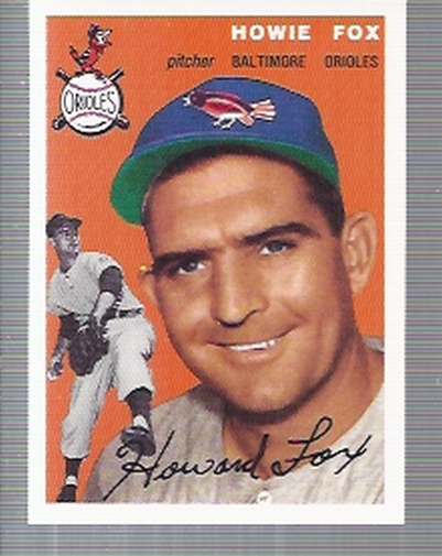1994 Topps Archives 1954 #246 Howie Fox