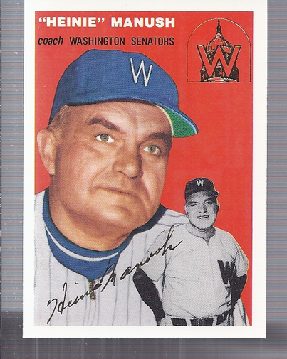 1994 Topps Archives 1954 Gold #187 Heinie Manush CO