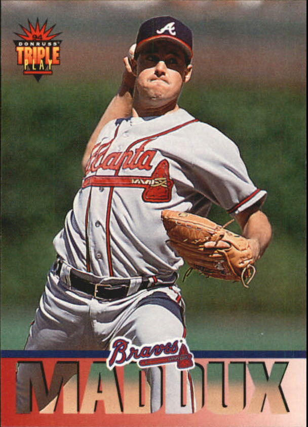1994 Triple Play #46 Greg Maddux