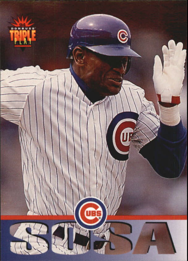 1994 Triple Play #78 Sammy Sosa