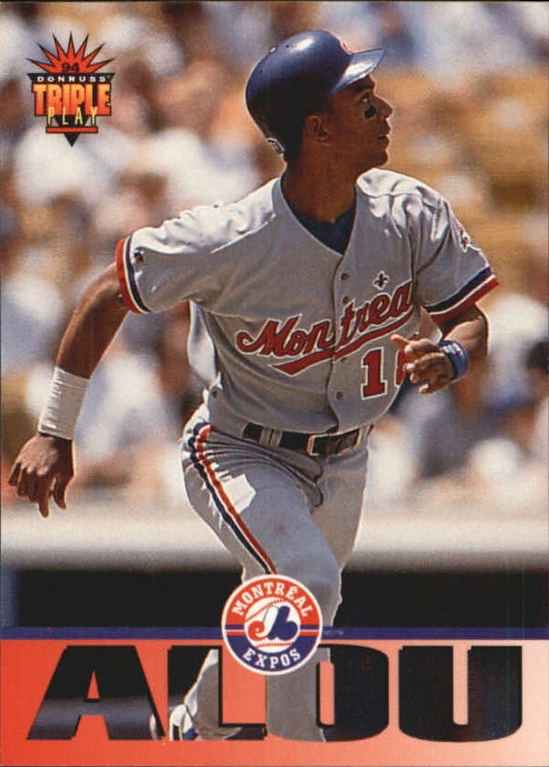 1994 Triple Play #91 Moises Alou