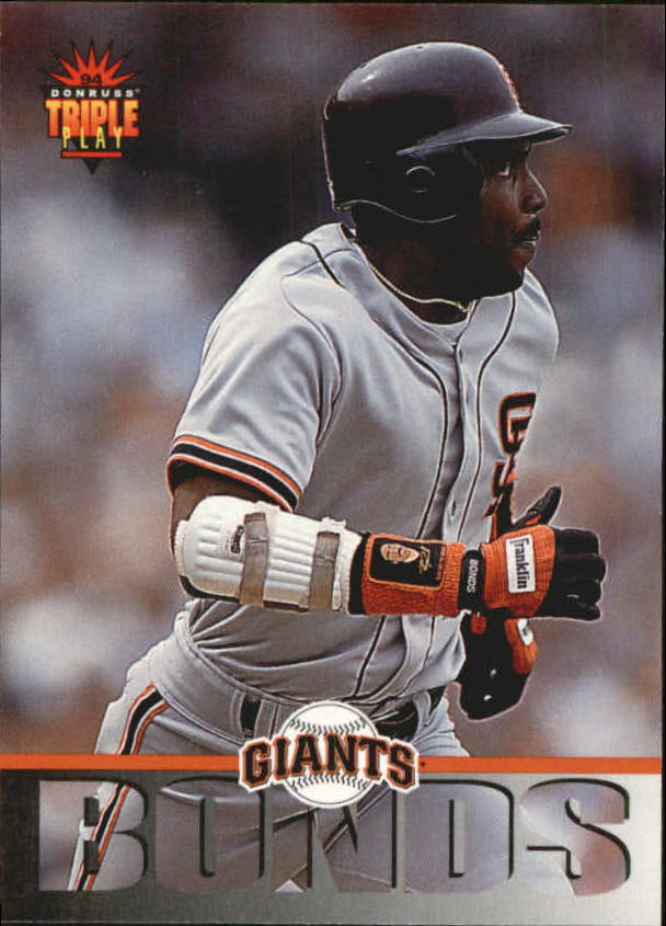 1994 Triple Play #102 Barry Bonds
