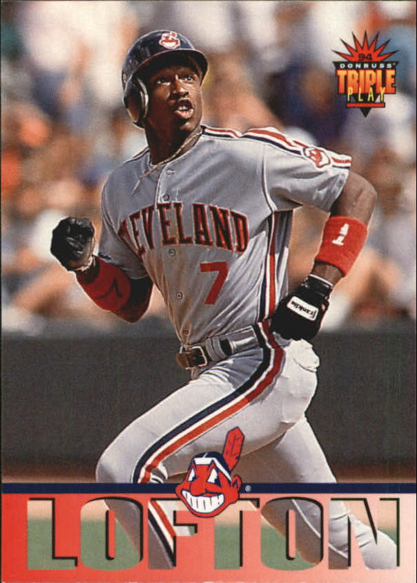 1994 Triple Play #115 Kenny Lofton