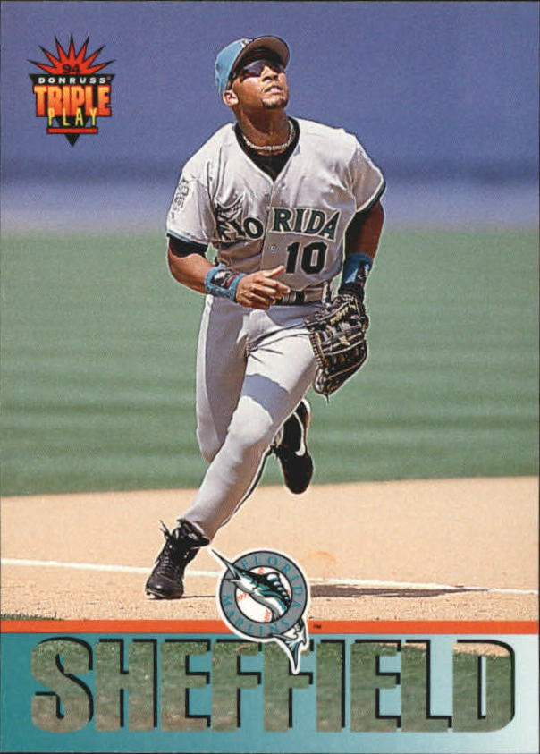 1994 Triple Play #140 Gary Sheffield