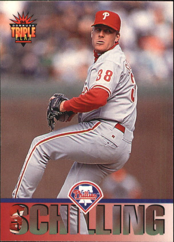 1994 Triple Play #179 Curt Schilling
