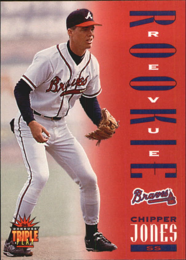 1994 Triple Play #281 Chipper Jones