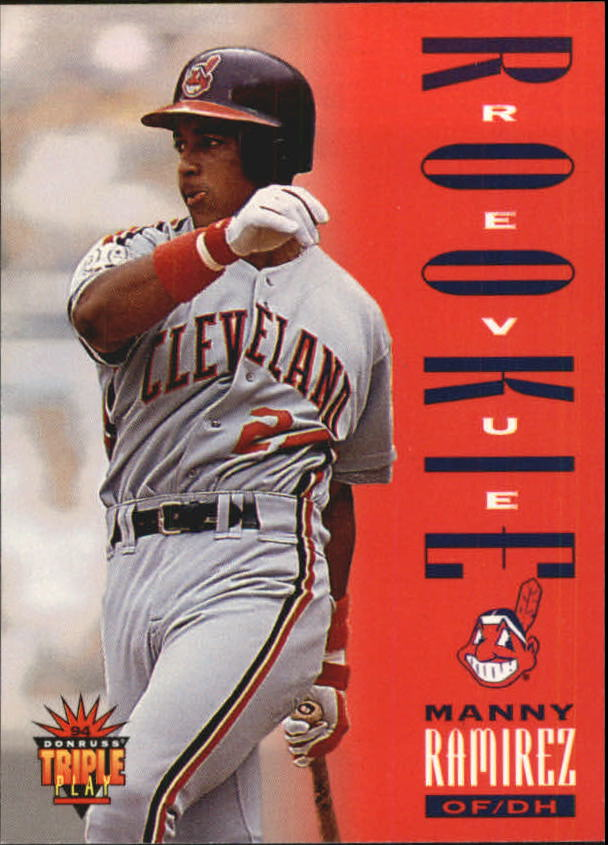 1994 Triple Play #286 Manny Ramirez