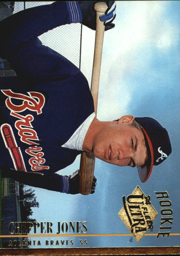 1994 Ultra #152 Chipper Jones