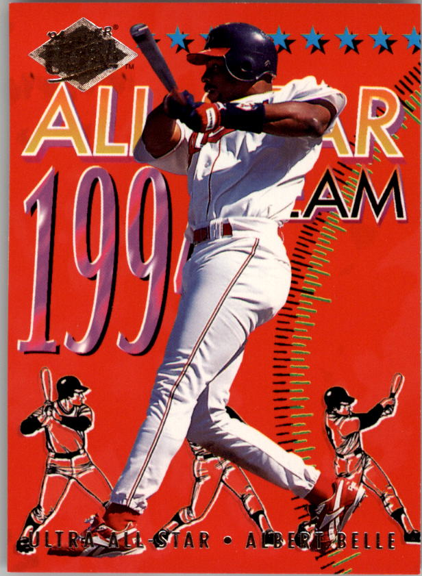 1994 Ultra All-Stars #6 Albert Belle