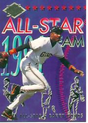 1994 Ultra All-Stars #16 Barry Bonds