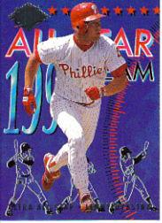 1994 Ultra All-Stars #17 Lenny Dykstra