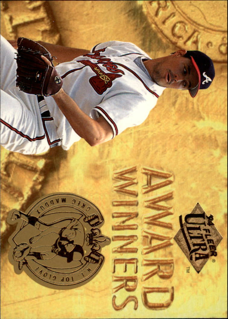 1994 Ultra Award Winners #18 Greg Maddux