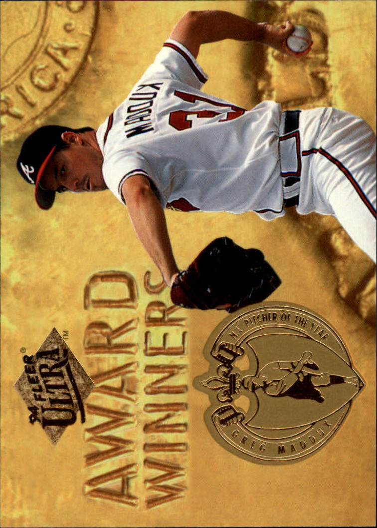 1994 Ultra Award Winners #23 Greg Maddux