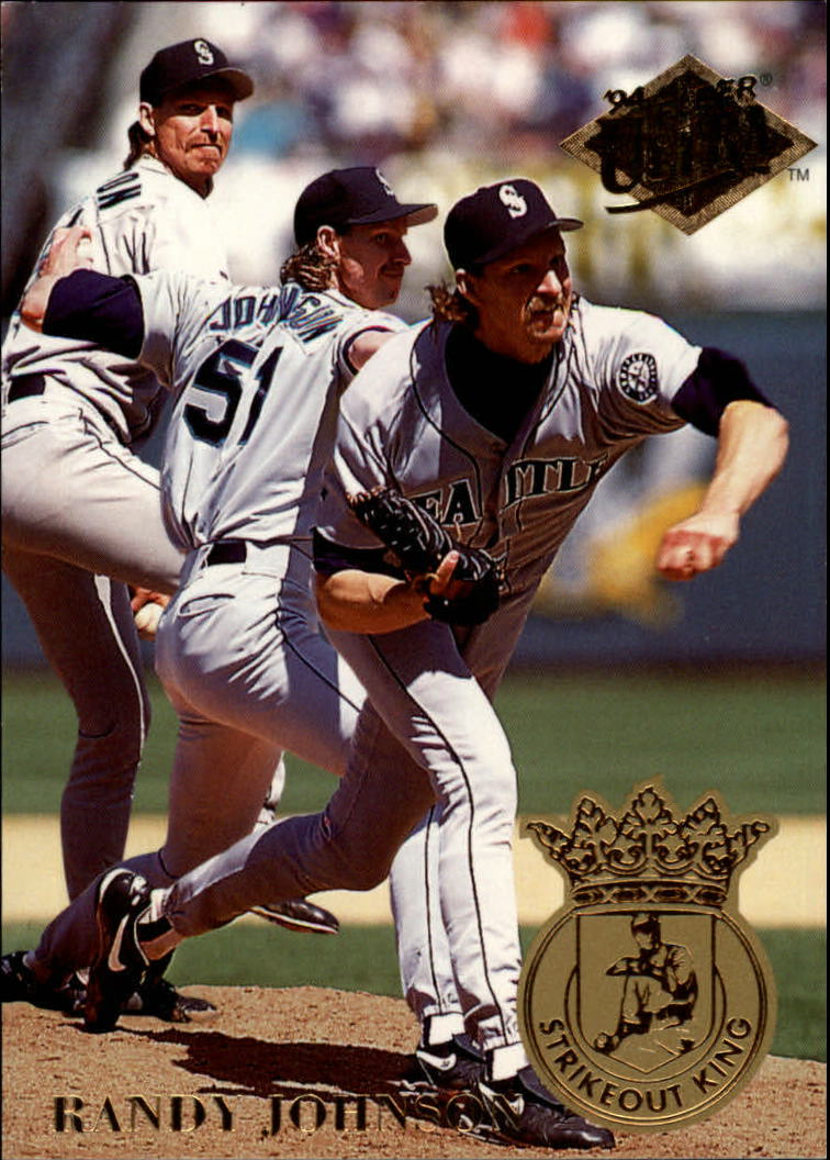 1994 Ultra Strikeout Kings #1 Randy Johnson