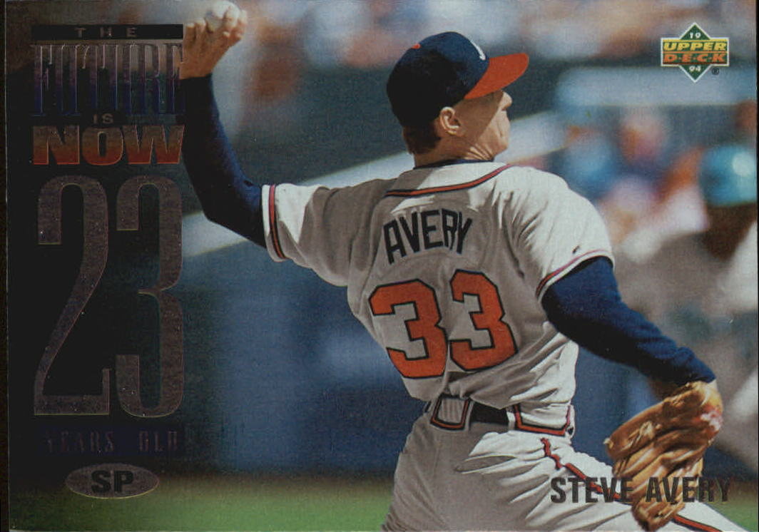 1994 Upper Deck #41 Steve Avery FUT