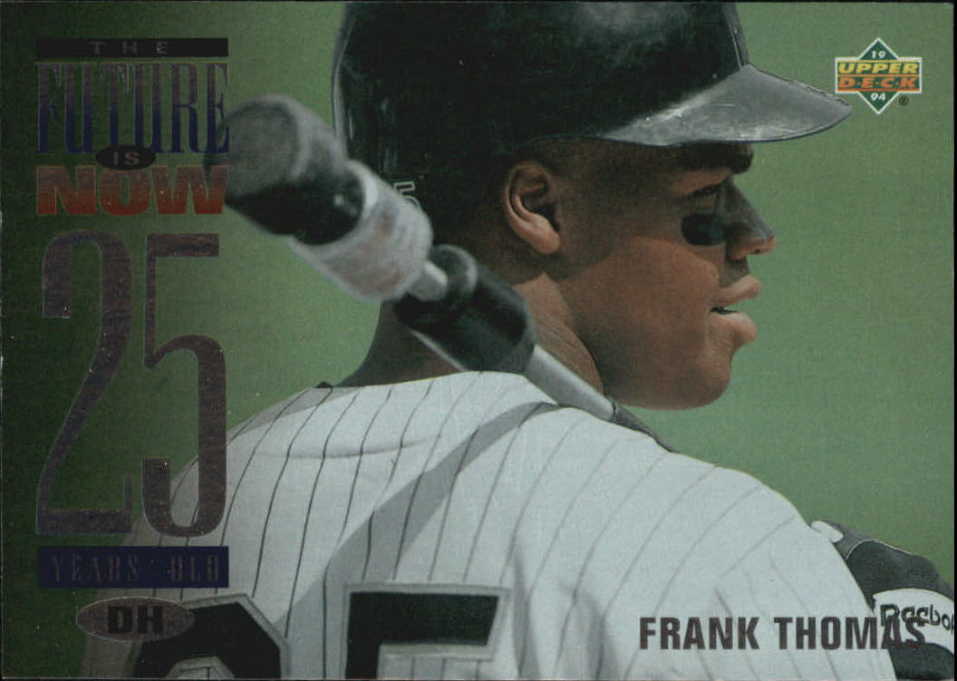 1994 Upper Deck #55 Frank Thomas FUT