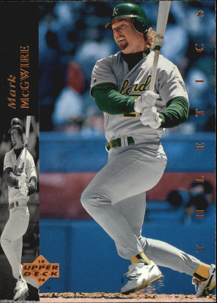 1994 Upper Deck #67 Mark McGwire