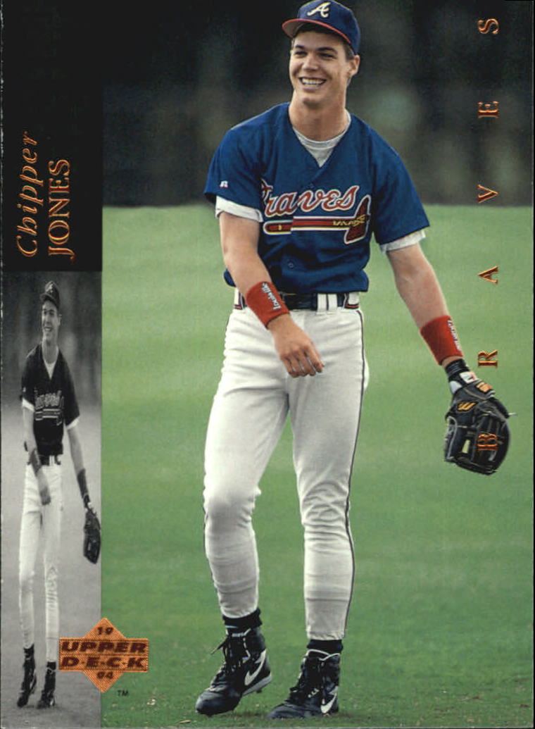 1994 Upper Deck #185 Chipper Jones