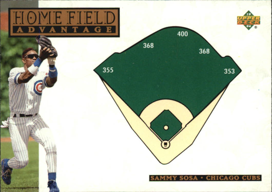 1994 Upper Deck #268 Sammy Sosa HFA