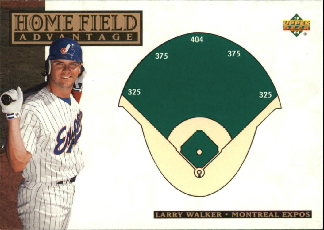 1994 Upper Deck #274 Larry Walker HFA