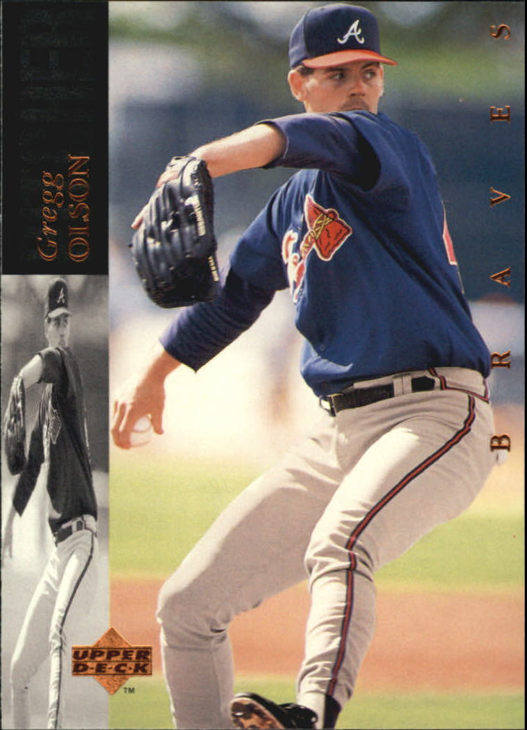 1994 Upper Deck #393 Gregg Olson