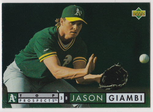 1994 Upper Deck #525 Jason Giambi