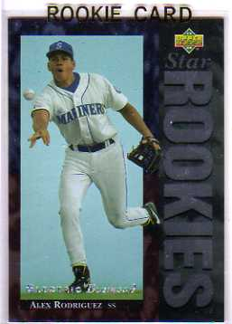 1994 Upper Deck Electric Diamond #24 Alex Rodriguez